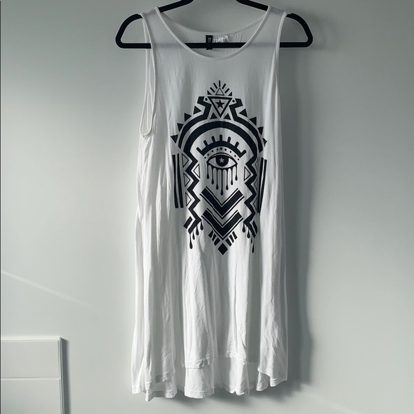 H&M Divided Sleeveless Jersey Dress